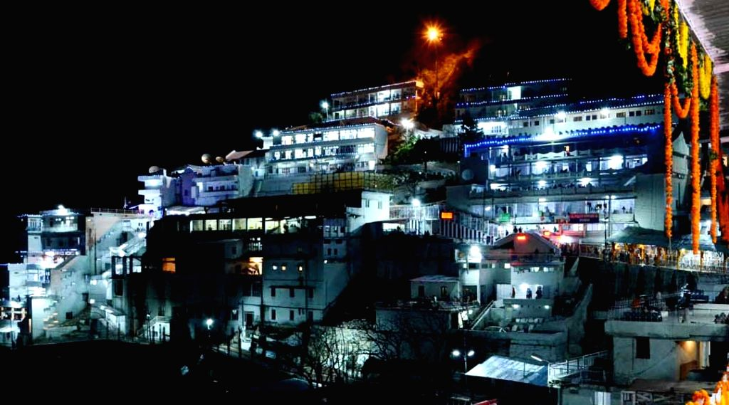 Vaishno Devi temple. (File Photo: IANS)