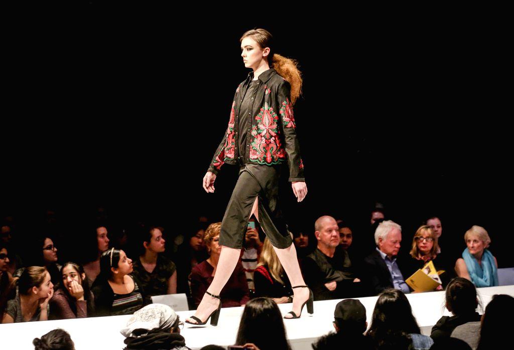 Canada Vancouver Kpu Graduation Fashion Show