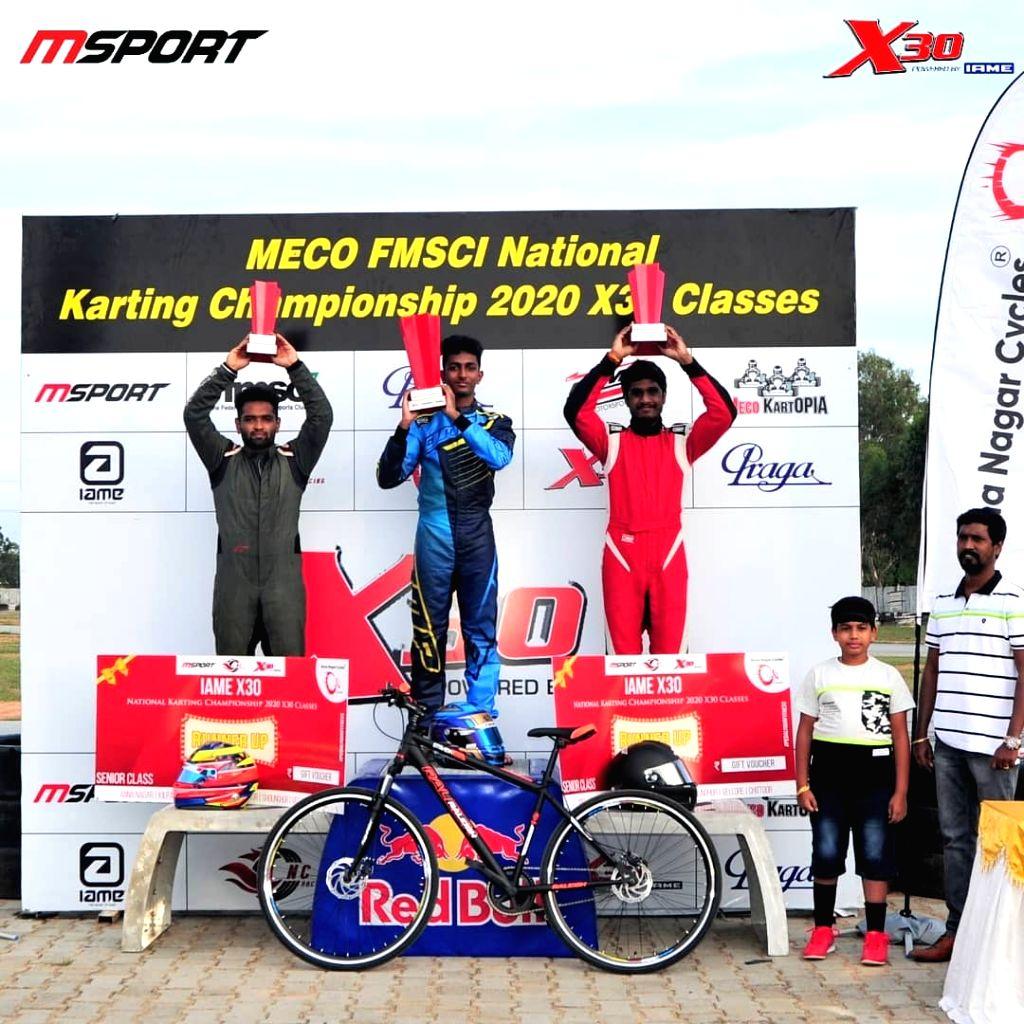 Varatan, Alva, Madesh win National Karting Championship titles.