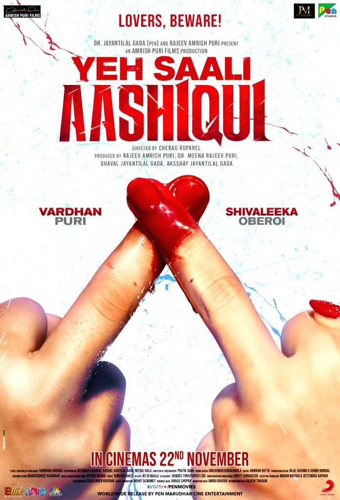 """Vardhan Puri, late actor Amrish Puri's grandson, is set to make his Bollywood debut with Shivaleeka Oberoi in a romantic thriller titled """"Yeh Saali Aashiqui"""", which was earlier titled """"Paagal"""". It will hit the screens in November. Produced by Jayanti - Amrish Pur"""