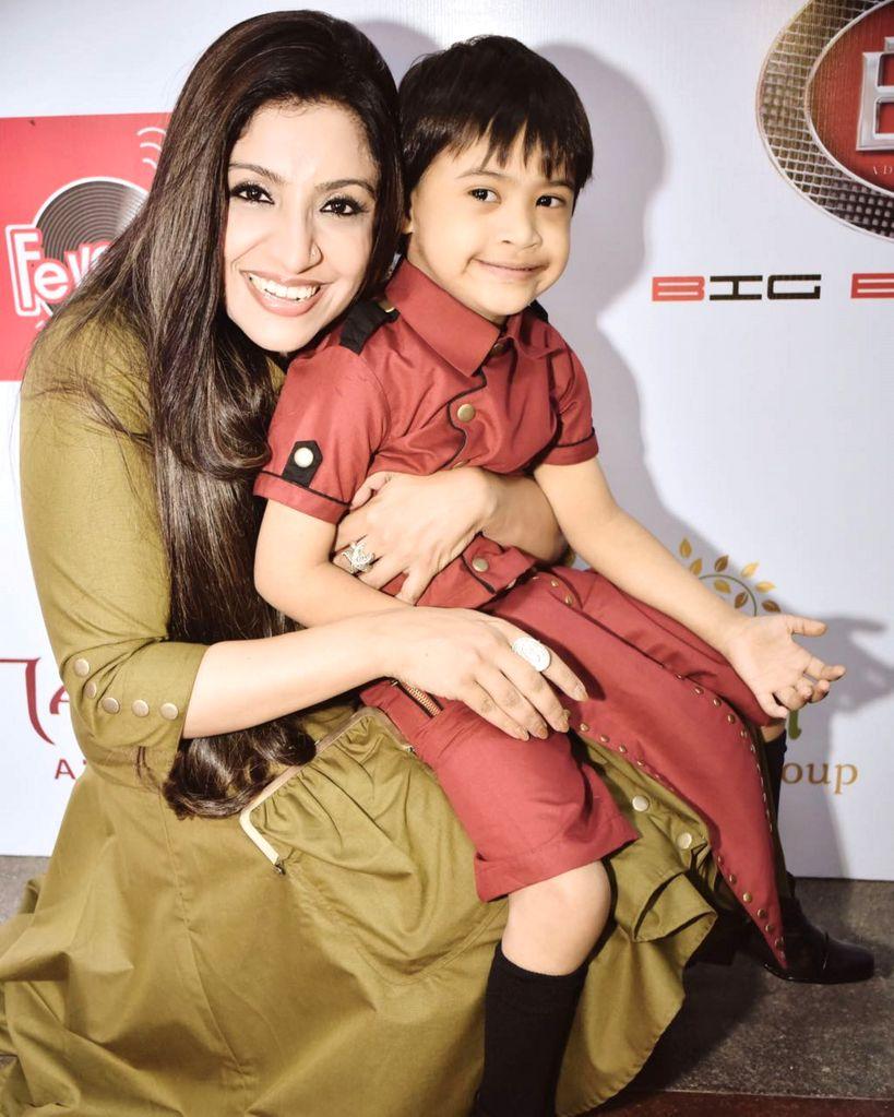 Varija Bajaj with Shubham