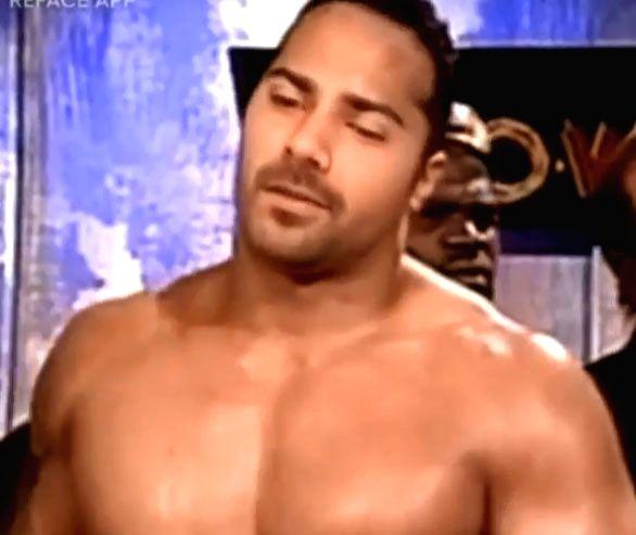 Varun Dhawan indulges in wrestling fantasy