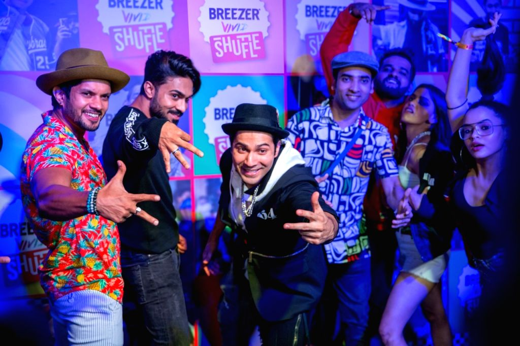 Varun to star in music video with budding hip-hop artistes.