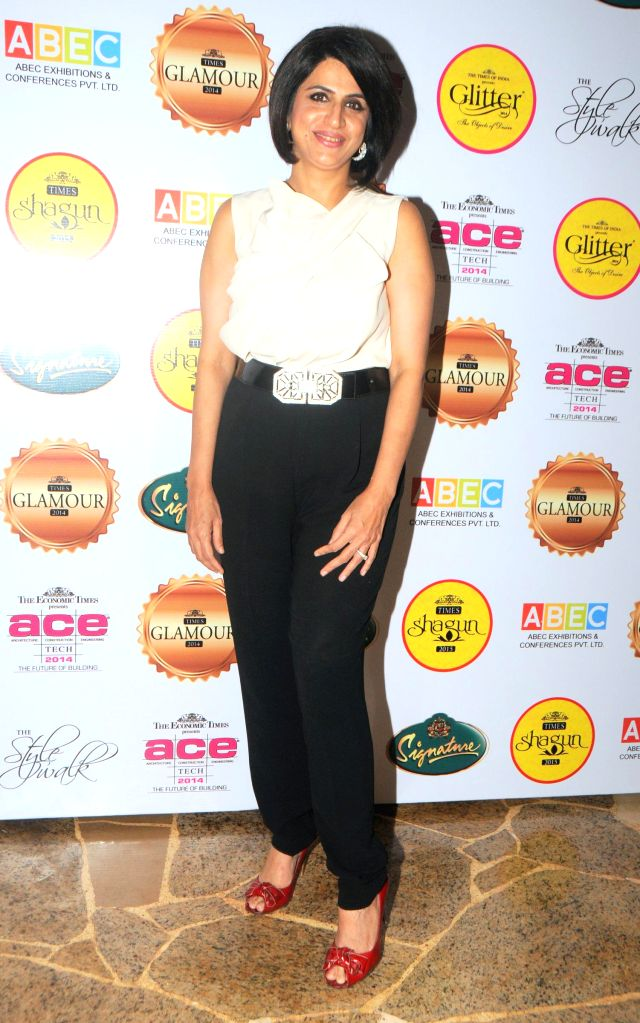Varuna D Jani during the gala musical dinner hosted by Bulbeer Gandhi, Additional director, Asian Business Exhibition & Conferences (ABEC) for prominent jewelers across the country in Mumbai on ..