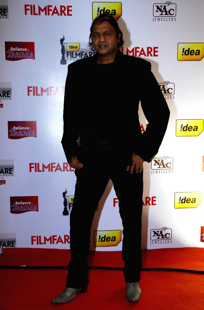 Vasant Bhandari of UB Group at the `61st Idea Filmfare South Awards 2013` held in Chennai at Nehru Stadium.