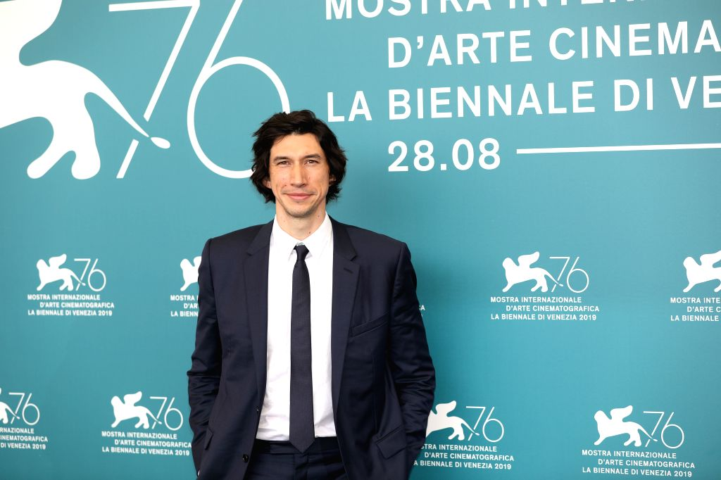 "VENICE, Aug. 29, 2019 - Actor Adam Driver attends a photocall for the film ""Marriage Story"" during the 76th Venice International Film Festival in Venice, Italy, on Aug. 29, 2019. - Adam Driver"