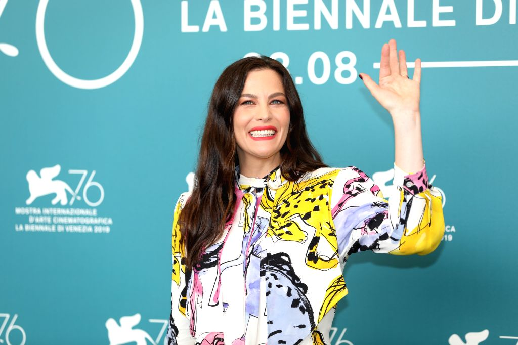 "VENICE, Aug. 29, 2019 - Actress Liv Tyler attends a photocall for the film ""Ad Astra"" during the 76th Venice International Film Festival in Venice, Italy, on Aug. 29, 2019. - Liv Tyler"