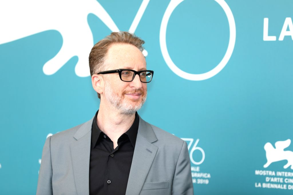 "VENICE, Aug. 29, 2019 - Director James Gray attends a photocall for the film ""Ad Astra"" during the 76th Venice International Film Festival in Venice, Italy, on Aug. 29, 2019."