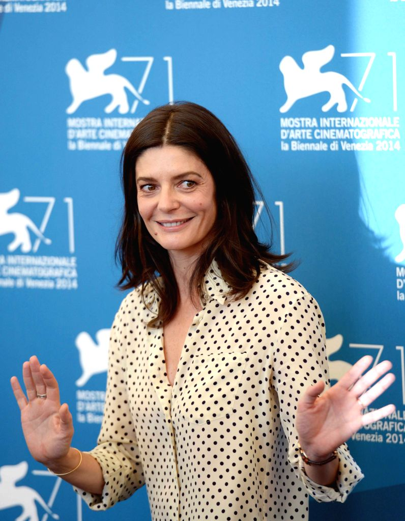Actress Chiara Mastroianni poses during the photo call for 3 Coeurs during the 71st Venice Film Festival, in Lido of Venice, Italy on Aug. 30. 2014. Photo: ... - Chiara Mastroianni