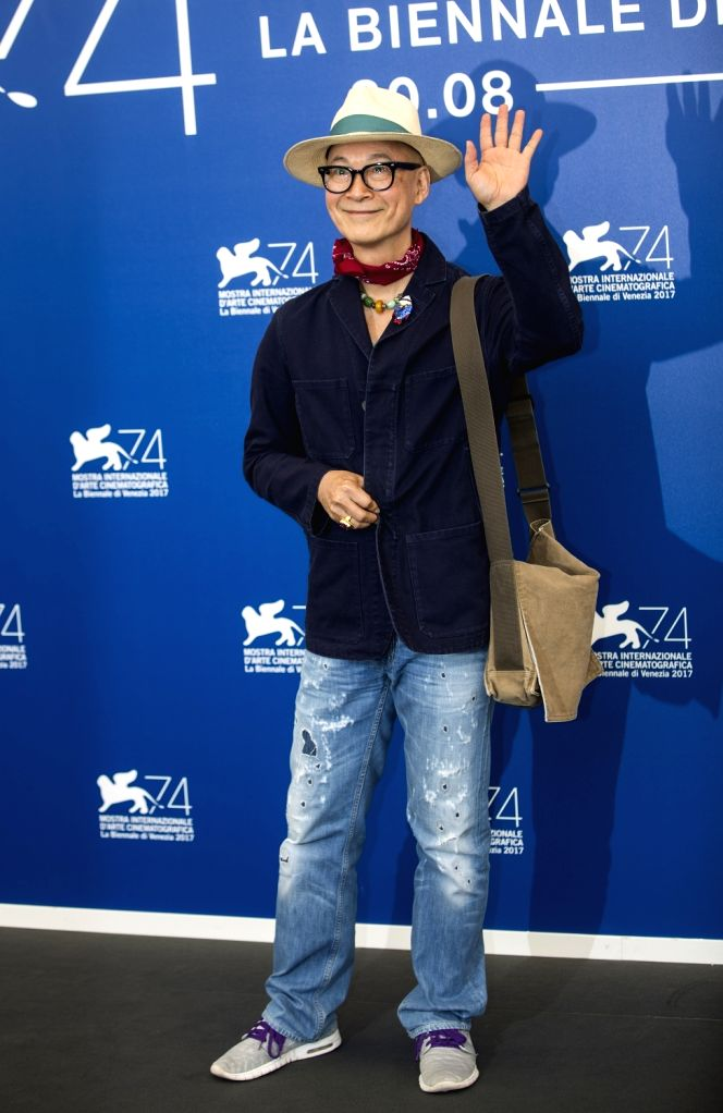 VENICE, Aug. 30, 2017 - Jury member of the 74th edition of the Venice Film Festival Yonfan poses at the Jury photocall during the 74th Venice Film Festival in Venice, Italy, on Aug. 30, 2017. The ...