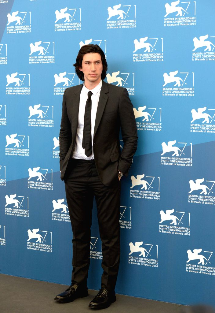 """Actor Adam Driver poses during the photo call for """"Hungry Hearts"""" which is selected for the main competition during the 71th Venice Film Festival, in Lido . - Adam Driver"""