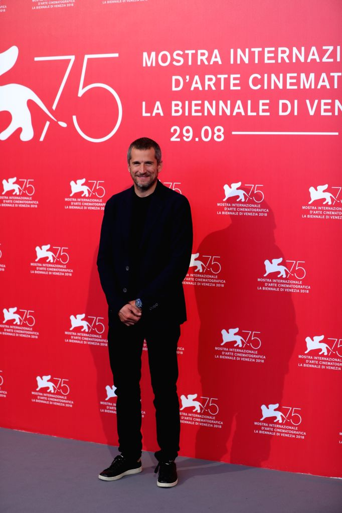 """VENICE, Aug. 31, 2018 - Guillaume Canet attends """"Doubles Vies"""" photocall during the 75th Venice International Film Festival at Sala Casino, Venice, Italy, Aug. 31, 2018."""