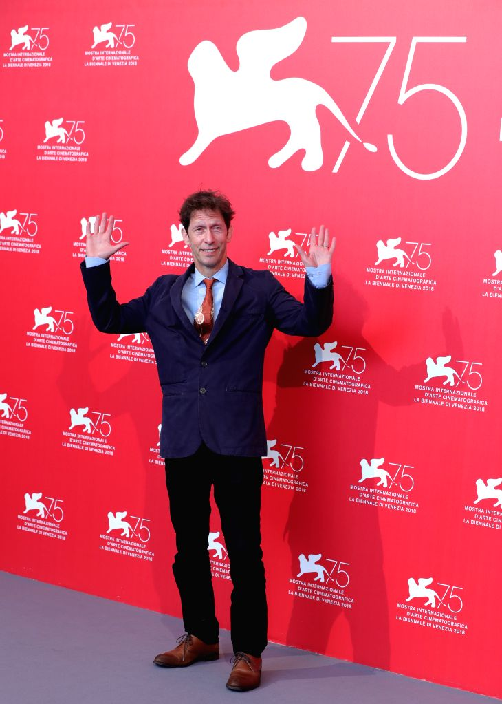 """VENICE, Aug. 31, 2018 - Tim Blake Nelson attends """"The Ballad of Buster Scruggs"""" photocall during the 75th Venice International Film Festival at Sala Casino, Venice, Italy, Aug. 31, 2018."""