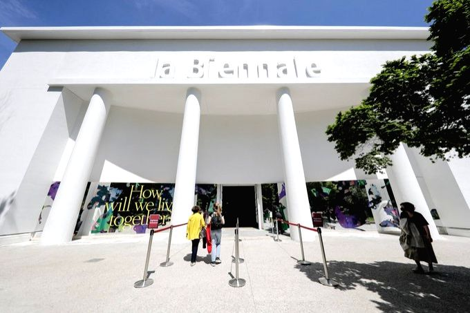 Venice's Architecture Biennale focuses on co-existence in post-pandemic world.(pic credit: https://twitter.com/la_Biennale)