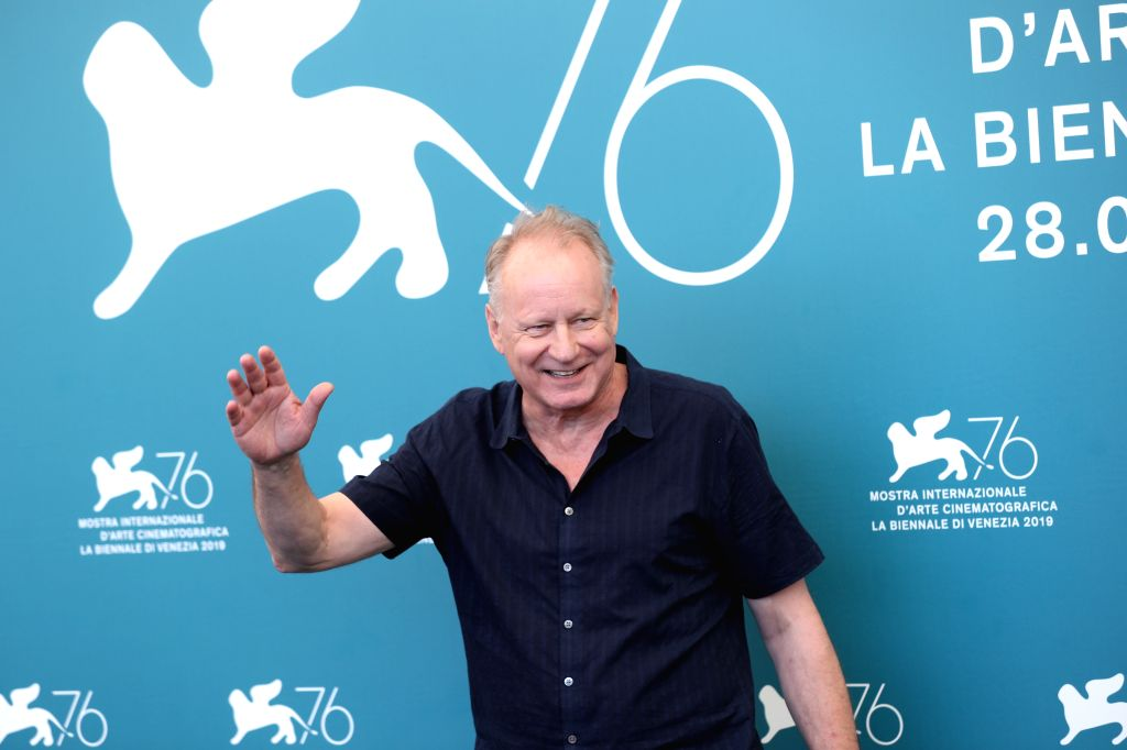 "VENICE, Sept. 3, 2019 - Actor Stellan Skarsgard attends a photocall for the film ""The Painted Bird"" during the 76th Venice Film Festival in Venice, Italy, on Sept. 3, 2019. - Stellan Skarsgard"