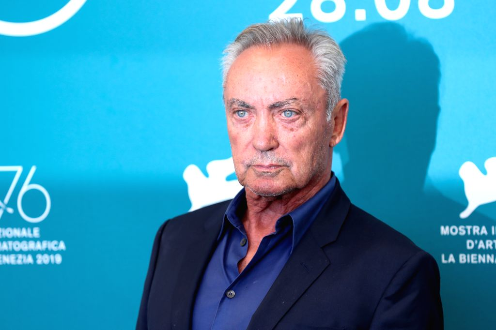 "VENICE, Sept. 3, 2019 - Actor Udo Kier attends a photocall for the film ""The Painted Bird"" during the 76th Venice Film Festival in Venice, Italy, on Sept. 3, 2019. - Udo Kier"
