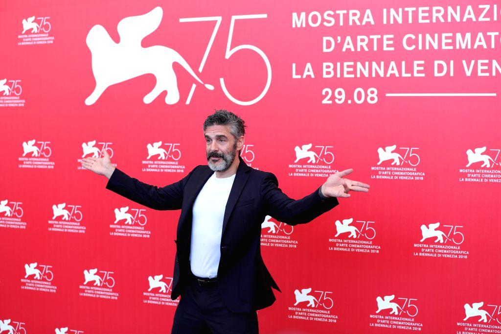 "VENICE, Sept. 4, 2018 - Actor Leonardo Sbaraglia attends ""Acusada"" photocall during the 75th Venice International Film Festival in Venice, Italy, Sept. 4, 2018. - Leonardo Sbaraglia"