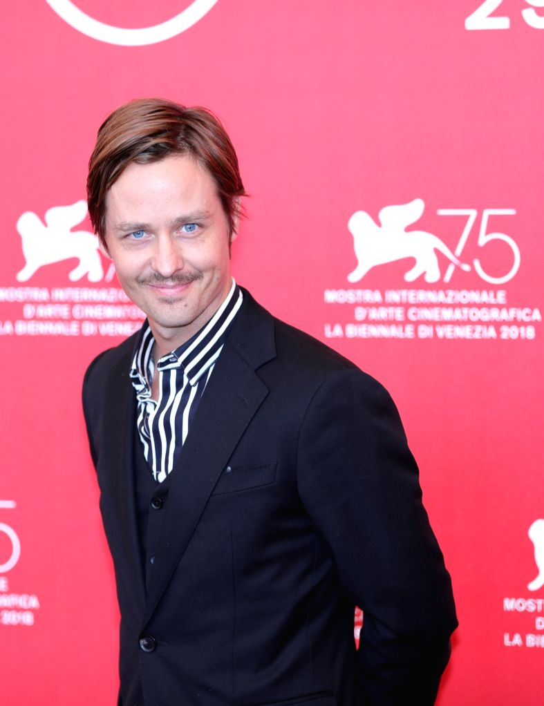 """VENICE, Sept. 4, 2018 - Actor Tom Schilling attends """"Werk Ohne Autor"""" photocall during the 75th Venice International Film Festival in Venice, Italy, Sept. 4, 2018. - Tom Schilling"""