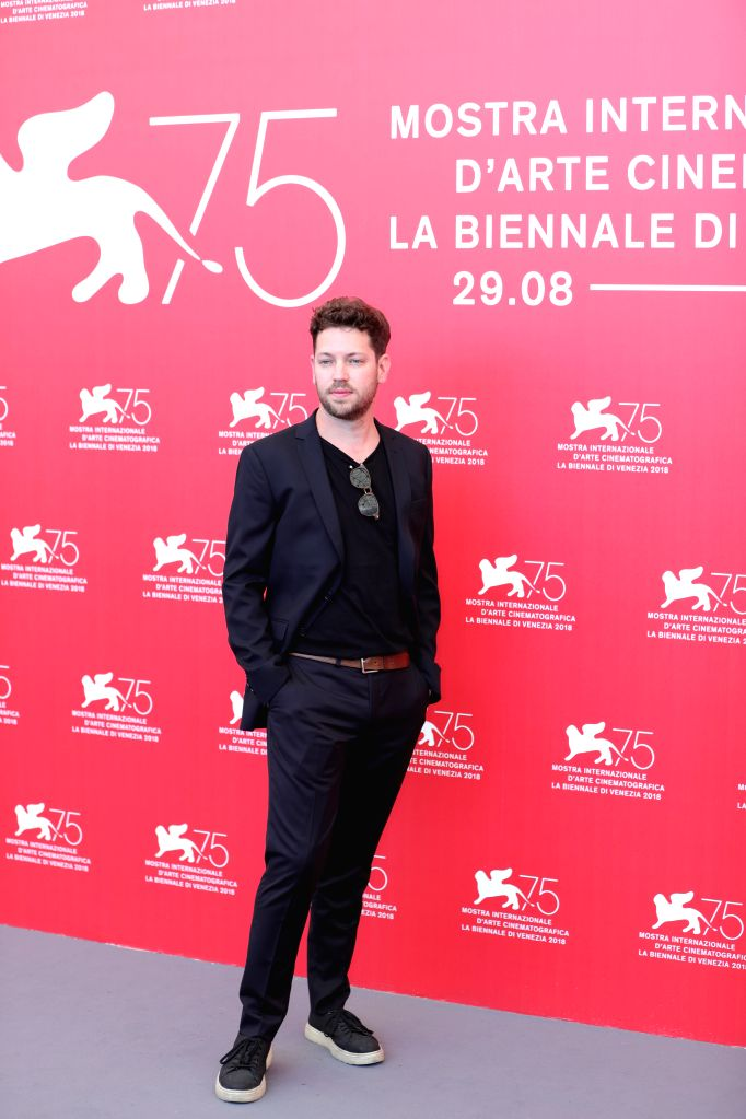 """VENICE, Sept. 4, 2018 - Director Gonzalo Tobal attends """"Acusada"""" photocall during the 75th Venice International Film Festival in Venice, Italy, Sept. 4, 2018."""