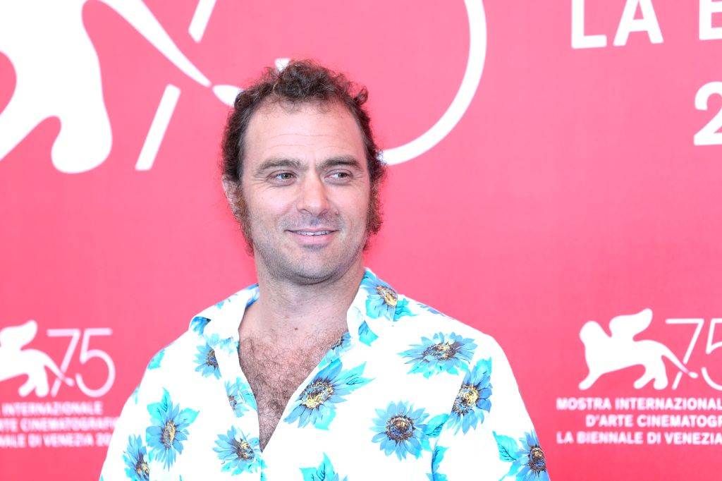 """VENICE, Sept. 5, 2018 - Actor Phil Burgers attends """"Nuestro Tiempo"""" photocall during the 75th Venice International Film Festival at Sala Casino, Venice, Italy, Sept. 5, 2018. - Phil Burgers"""