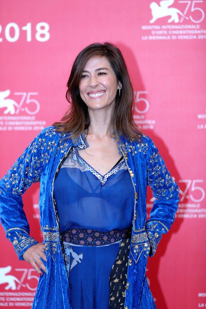"VENICE, Sept. 5, 2018 - Actress Natalia Lopez attends ""Nuestro Tiempo""  photocall during the 75th Venice International Film Festival at Sala Casino , Venice, Italy, Sept. 5, 2018. - Natalia Lopez"