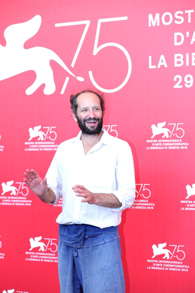 "VENICE, Sept. 5, 2018 - Director Carlos Reygadas attends ""Nuestro Tiempo""  photocall during the 75th Venice International Film Festival at Sala Casino , Venice, Italy, Sept. 5, 2018."