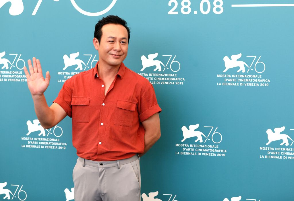 "VENICE, Sept. 5, 2019 - Chinese actor Zhang Songwen attends a photocall for the film ""Saturday Fiction"" at the 76th Venice Film Festival in Venice, Italy, Sept. 4, 2019. Chinese film ... - Zhang Songwen"