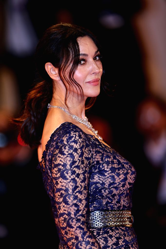 "VENICE, Sept. 9, 2016 - Actress Monica Bellucci arrives for the premiere of the movie ""Na Mlijecnom Putu"" (On The Milky Road) at the 73rd Venice Film Festival in Venice, Italy, on Sept. 9, ... - Monica Bellucci"