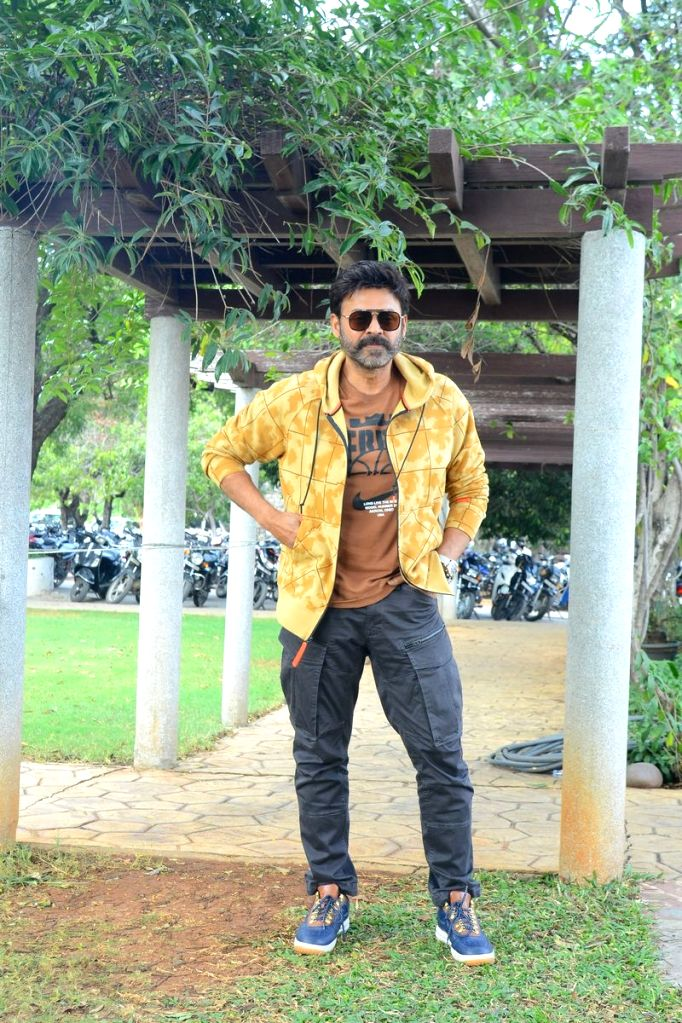 Venkatesh Speaks About Venky Mama Movie to Media.