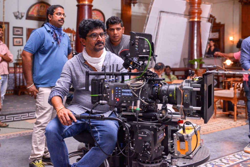 Venky Mama Working Stills.