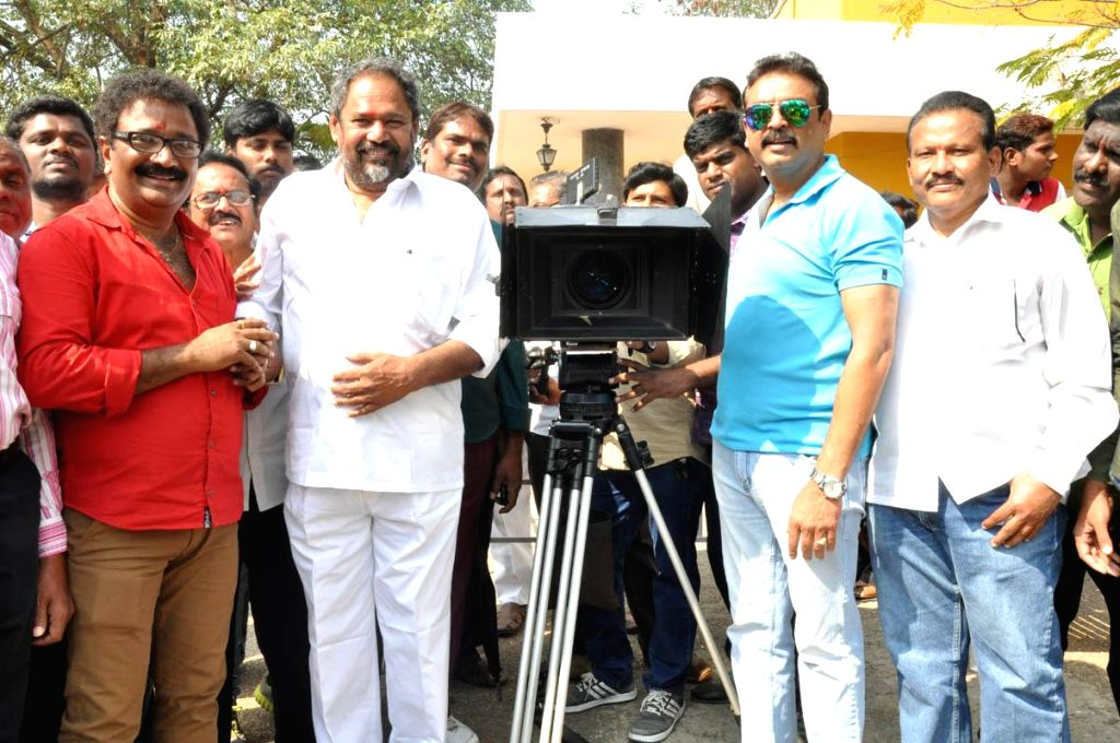 Vetakodavallu opening at Annapoorna Studios in Hyderabad on Jan 7, 2015.