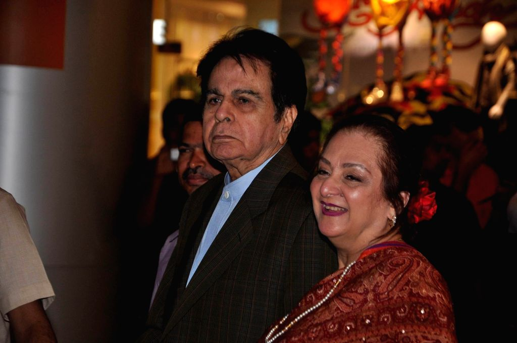 Veteran actor Dilip Kumar along with his wife Saira Banu. (File Photo: IANS) - Dilip Kumar