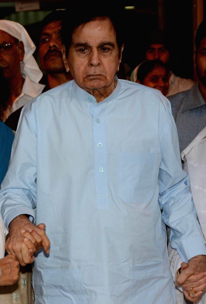 Veteran actor Dilip Kumar. (File Photo: IANS) - Dilip Kumar