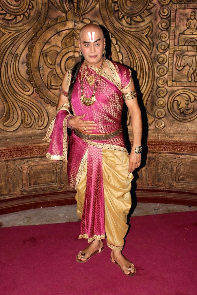 Veteran actor Pankaj Berry at the launch of the fresh rendition of Tenali Rama that will be aired on SAB TV in Mumbai on July 4, 2017. (Photo: IANS)​ - Pankaj Berry