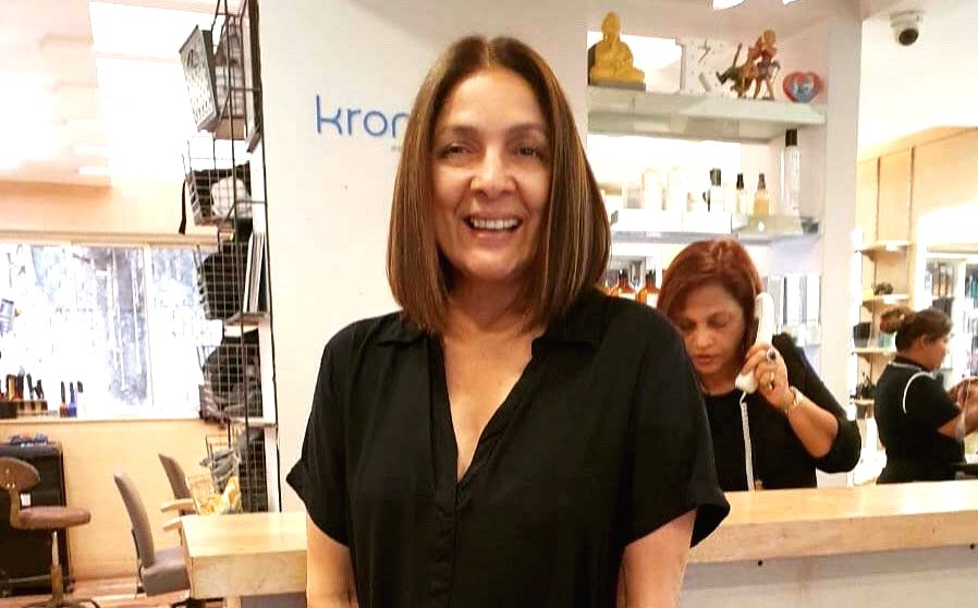 "Veteran actress Neena Gupta flaunted her new hairstyle and then requested Google to ""reduce"" her age online. Neena, 60, who is gearing up for the release of her next ""Shubh Mangal ... - Neena Gupta"