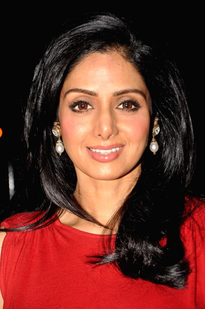 Veteran actress Sridevi, who passed away after suffering a cardiac arrest, she was in Dubai for a family function. She was 54. (File Photo: IANS ) - Sridevi