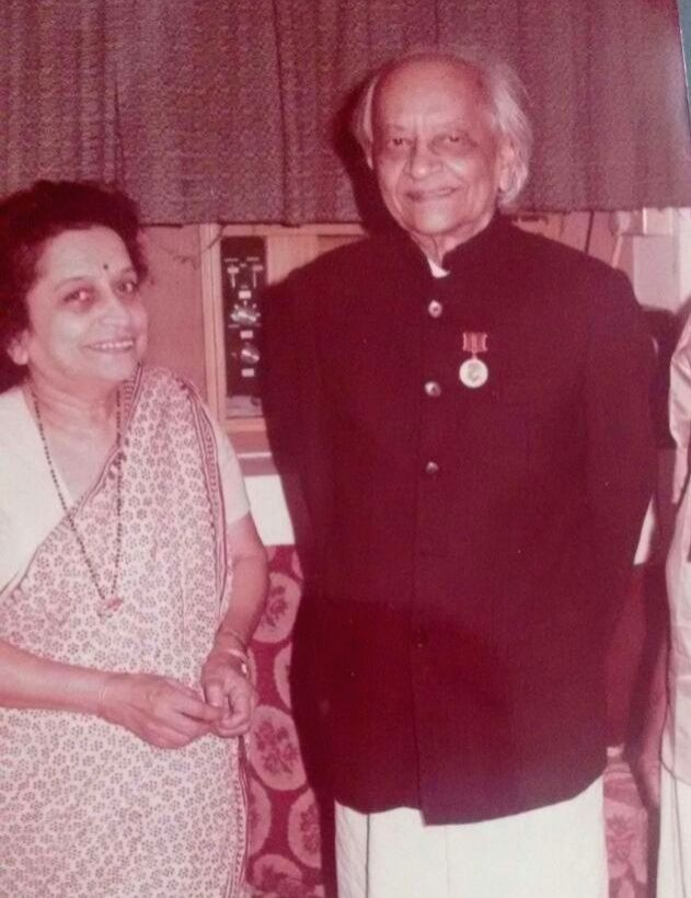 Veteran Communist leader Roza Deshpande, ex-MP, died in Mumbai, aged 91, on Sep 19, 2020. The picture shows her with her father the legendary Leftist Movement founder S. A. Dange. (File ...