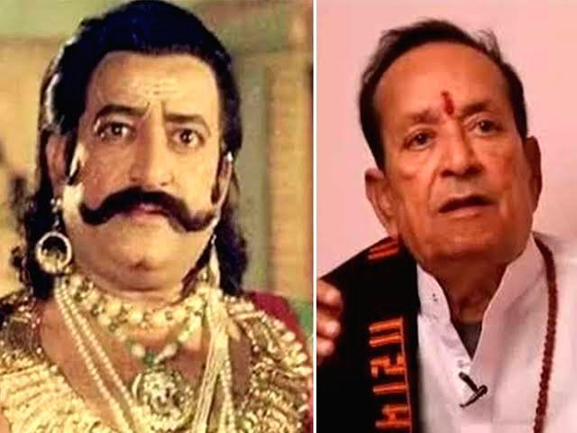 Veteran Gujarati and Hindi films actor Arvind Trivedi.(photo:not for sale/Twitter) - Arvind Trivedi