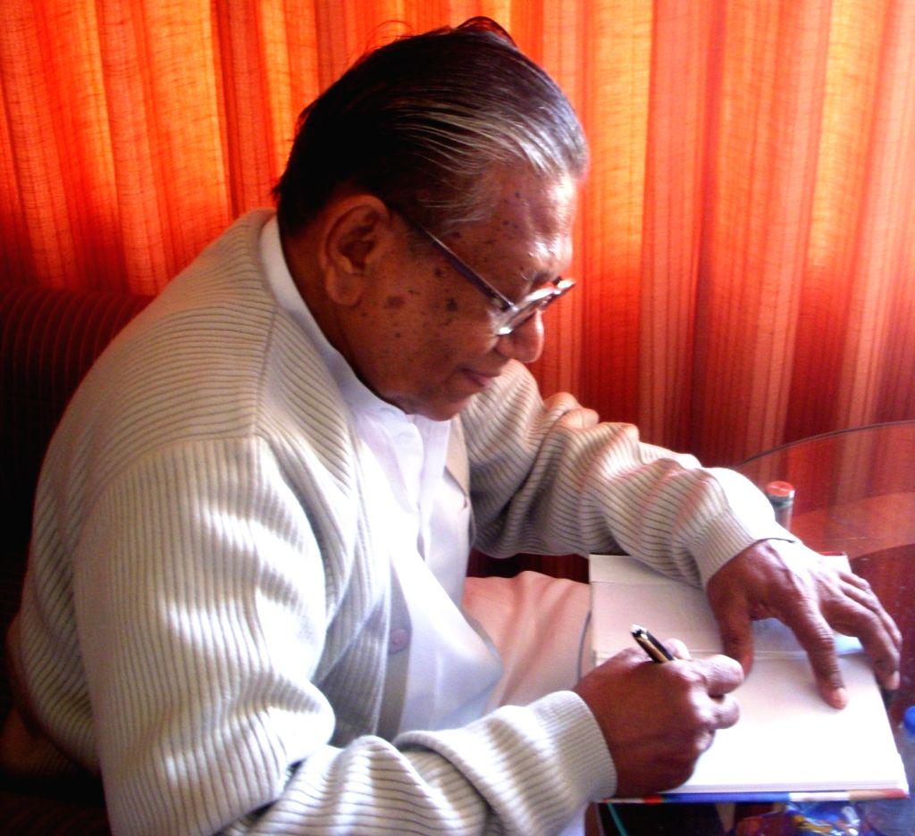 Veteran writer Manoj Das to receive Mystic Kalinga Literary Award 2020.