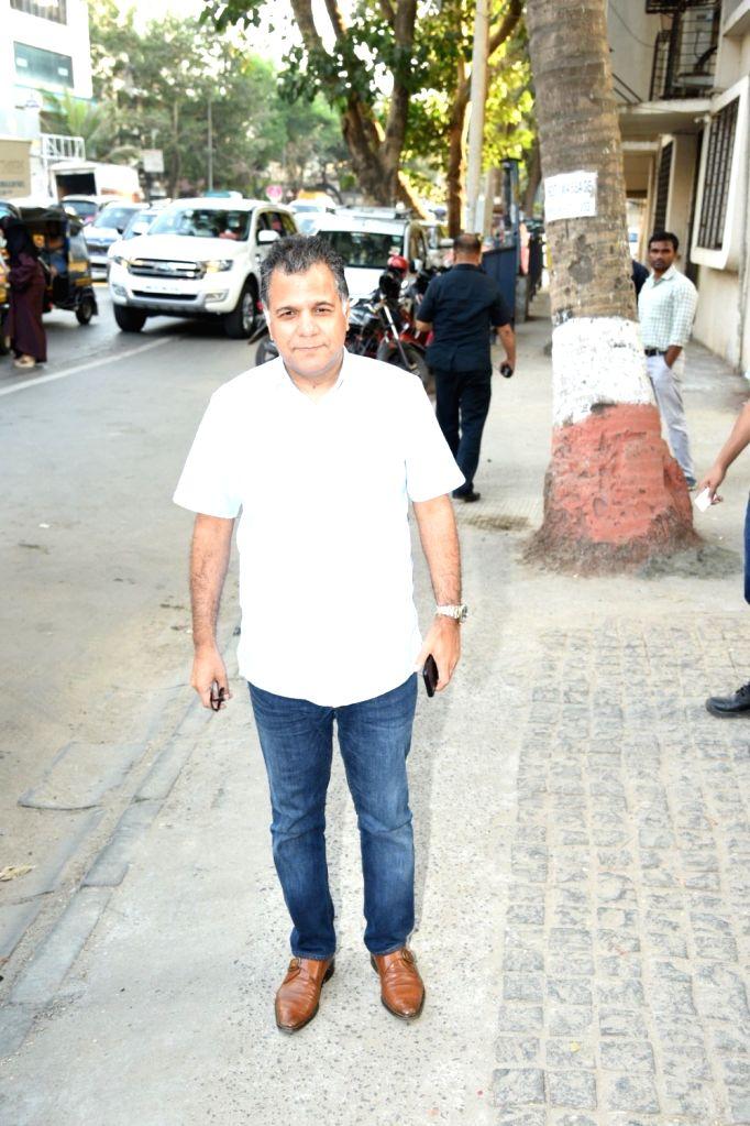 Viacom 18 COO Raj Nayak seen at a club in Mumbai's Juhu on  Feb 6, 2019.