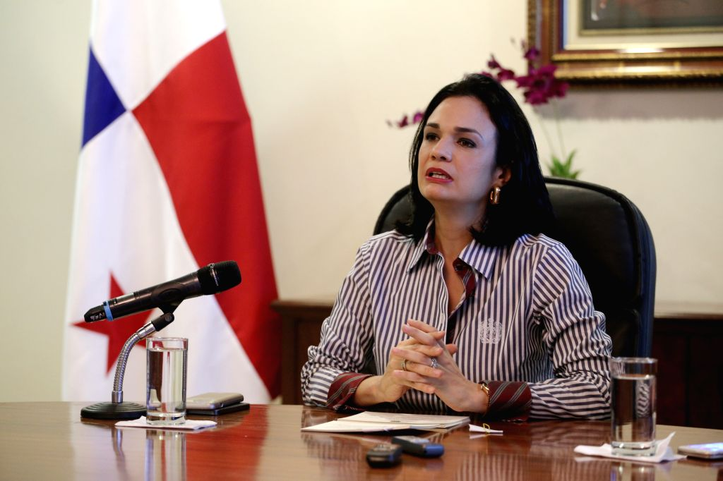Vice President and Foreign Minister of Panama Isabel de Saint Malo meets with foreign correspondents at the Foreign Ministry in Panama City July 3, 2015. ...