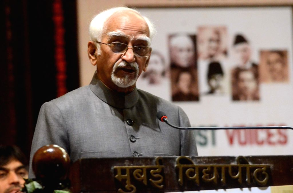Vice President M Hamid Ansari. (File Photo: IANS)
