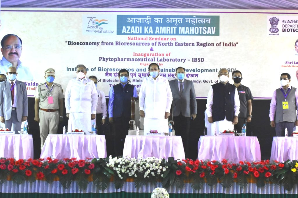 Vice President opens Phytopharmaceutical lab in Manipur to provide quality medical facility