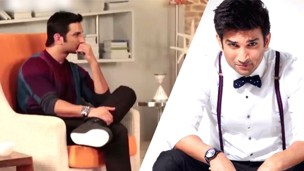 Video of Sushant admitting to being claustrophobic surfaces