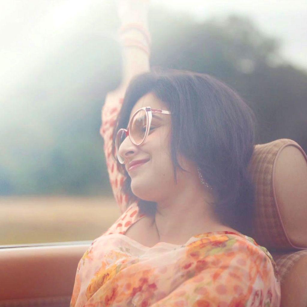 Vidya Balan: I find it easier to follow my hear. - Vidya Balan