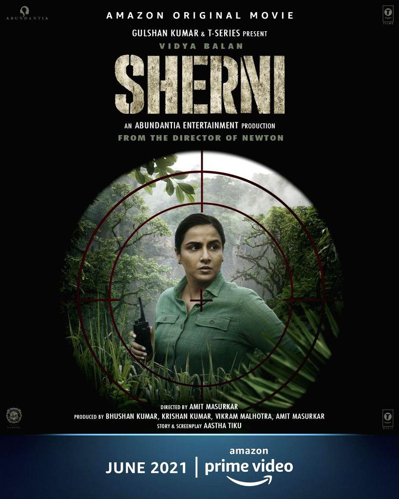 Vidya Balan-starrer 'Sherni' to release digitally in June - Vidya Balan