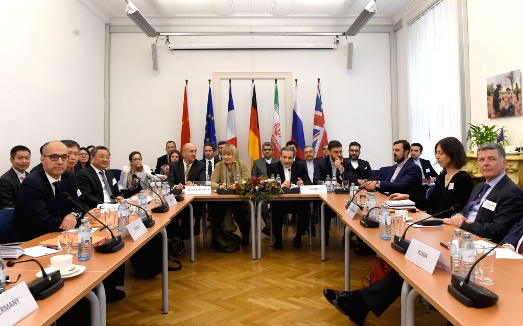 VIENNA, Dec. 7, 2019 - A meeting of the Joint Comprehensive Plan of Action (JCPOA) Joint Commission is held in Vienna, Austria, Dec. 6, 2019. Relevant parties reaffirmed their commitment here on ...
