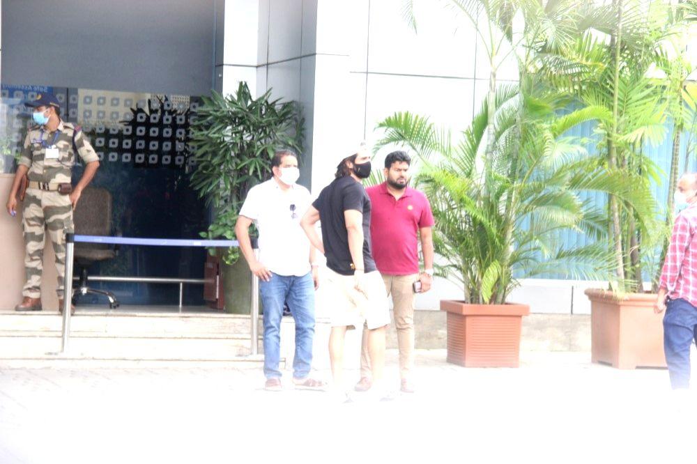 Vijay Deverakonda Spotted at Airport In Kalina on Thursday June 23, 2021.