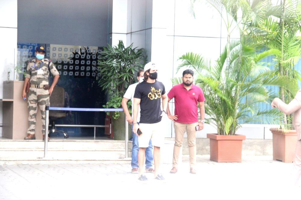 Vijay Deverakonda Spotted At Airport In Kalina on 24 june,2021.
