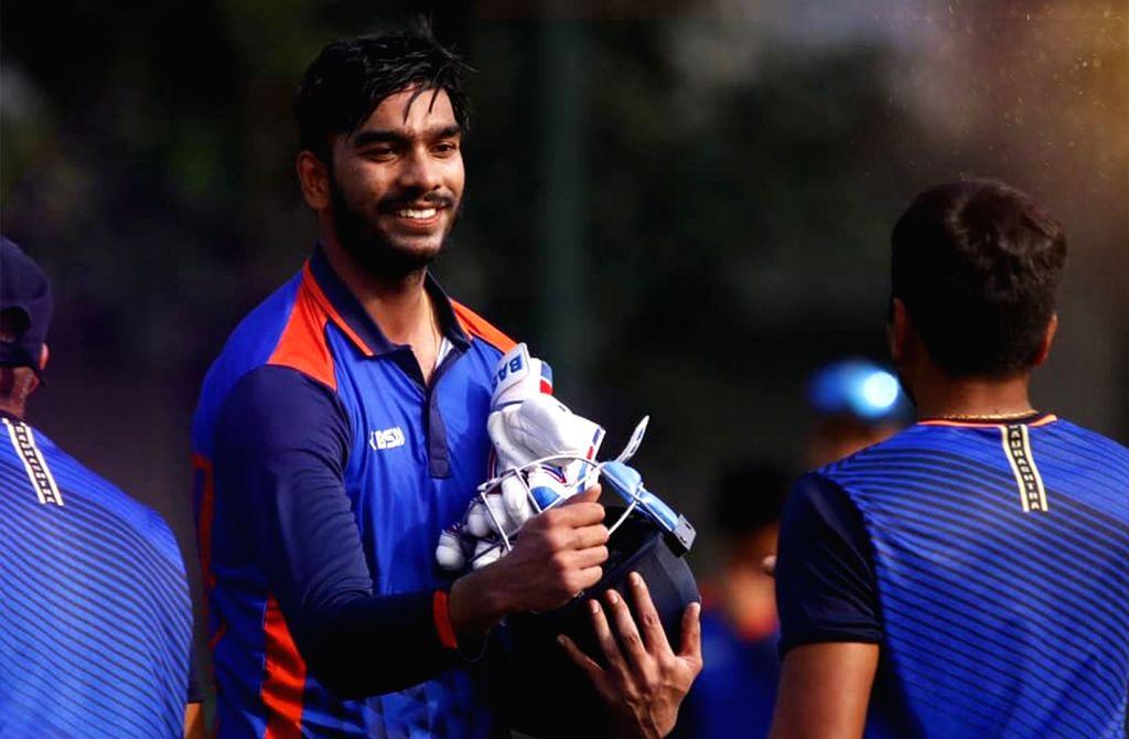 Vijay Hazare Trophy: Iyer misses on 200 by 2 run (Credit: KKR Twitter)